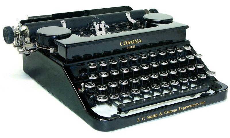 dating corona typewriters